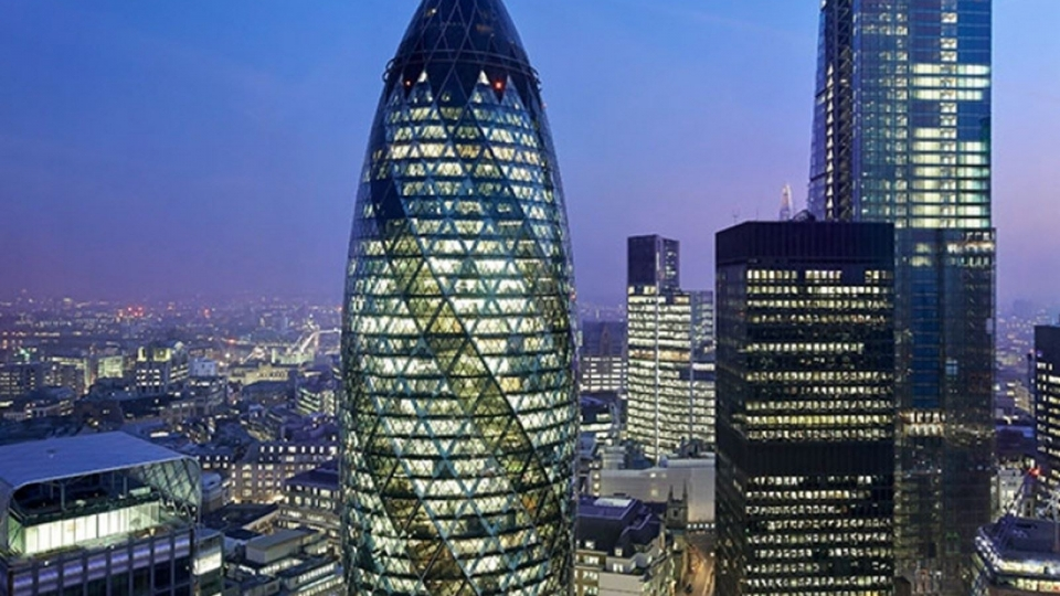 30 St Mary Axe: London